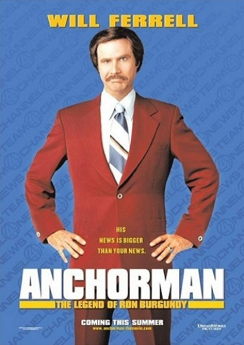 Carpool Movie - Anchorman: The Legend of Ron Burgundy (2004) PG-13