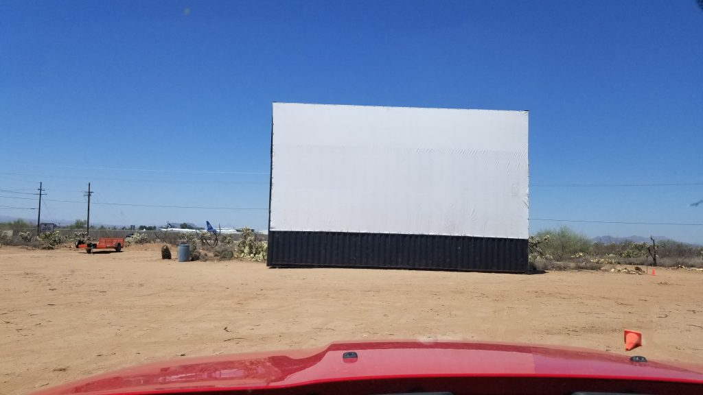 Our new screen - Front View